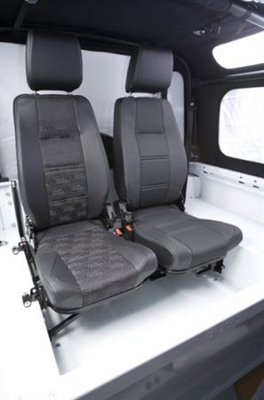 Defender Replacement Seats Forward Facing Fold Up