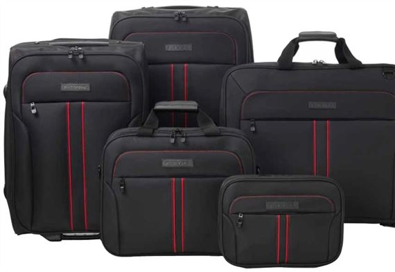 Jaguar F-Type 5-Piece Bespoke Luggage Set - JFTLUGSET - Genuine ... 0291832f9