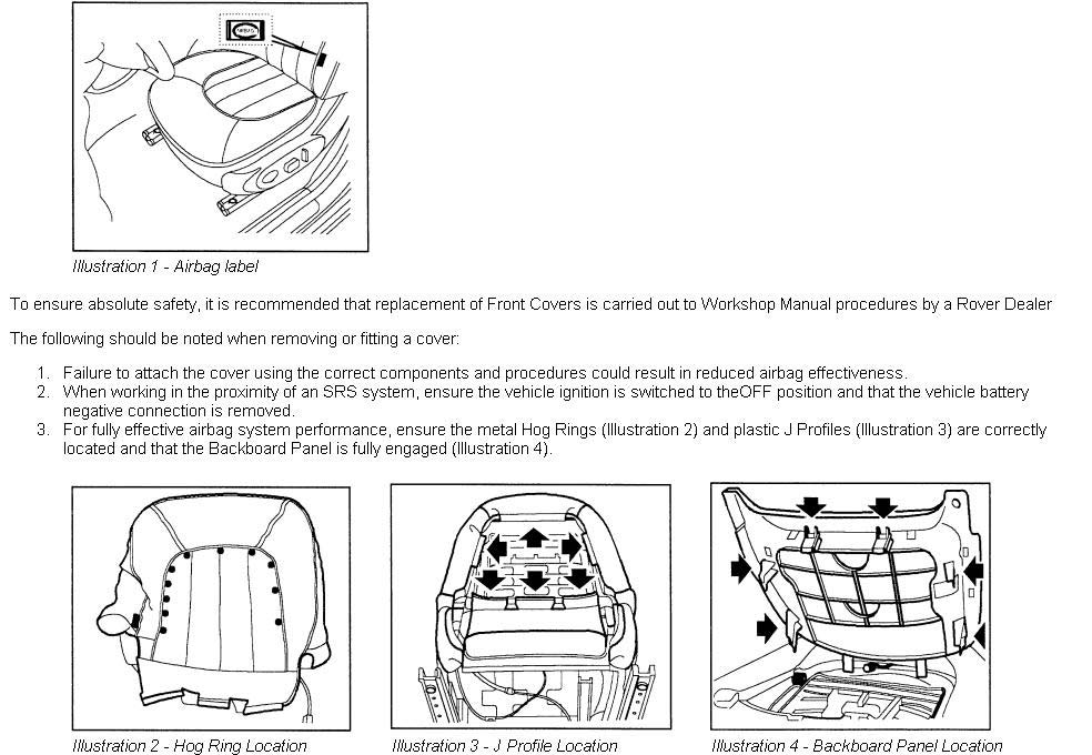 Wiring Diagram Rover 75 Seats - Trusted Wiring Diagram •