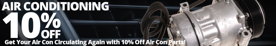 Get Your Air Con Circulating Again with 10% Off Air Con Parts