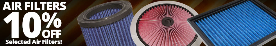 10% off Select Air Filters