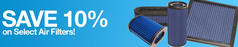 Save 15% on Select Air Filters