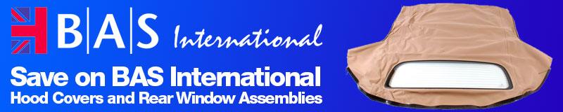 Save on BAS International Hood Covers and Rear Window Assemblies