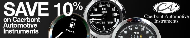 Save 10% on Caerbont Automotive Instruments