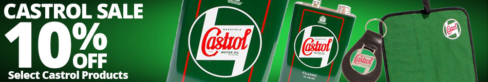 Save 10% on Select Castrol Products!