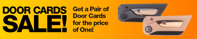 Door Cards Sale - Get a Pair of Door Cards for the price of One!