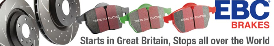 EBC Brakes - Starts in Great Britian, Stops all over the World