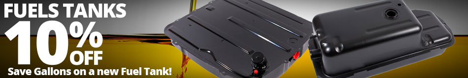 Fuel Tanks Sale - 10% Off - Save Gallons on a new Fuel Tank