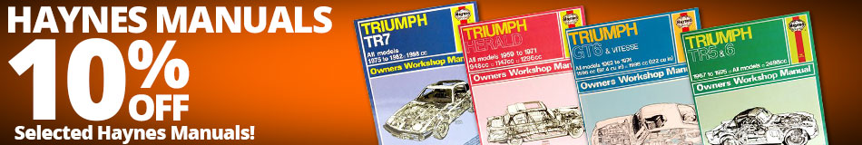 10% off Selected Haynes Manuals