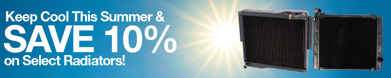 Keep Cool This Summer and Save 10% on Select Radiators