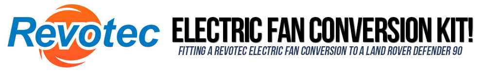 Revotec Electric Fan Conversion Kit