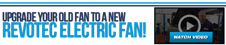 Upgrade your old fan to a new Revotec Electri Fan
