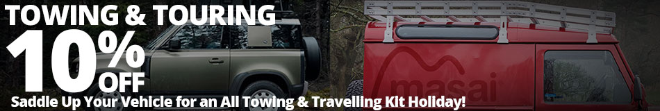 Up to 10% off Selected Towing & Touring Products