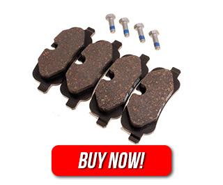 Brake Pad Set - LR055454 - Genuine