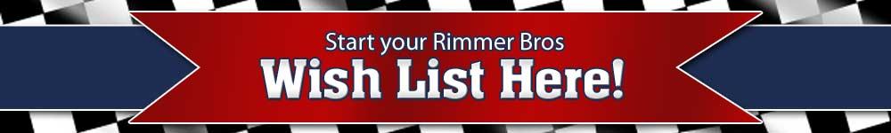 Rimmer Wings Wish List!