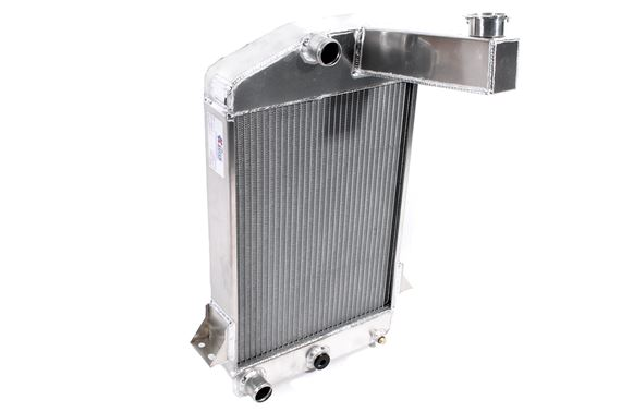 how to fix a hole in a aluminum radiator