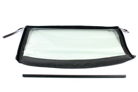 Rear Window Assembly - Plastic - Dark Grey Material - XPT000091LFMP1 - OEM