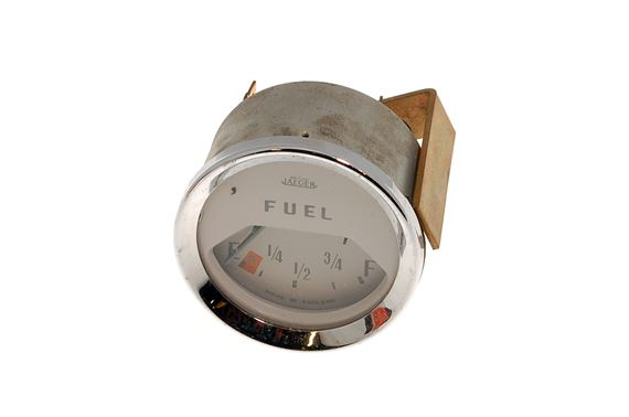 Fuel Gauge - 948 Coupe - White Face - New - 130412