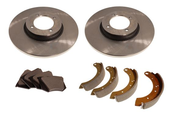 Brake Kit - Discs, Pads and Shoes - RW3093
