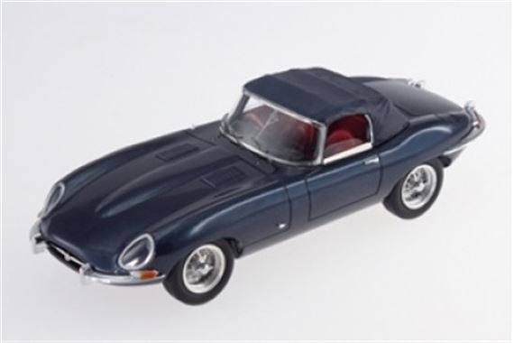 Jaguar E Type Series 1 - 1:43 Scale Resin Cast Model - Indigo