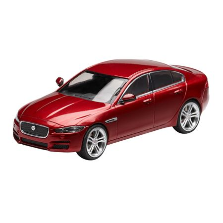 Jaguar XE Die Cast Model - Red