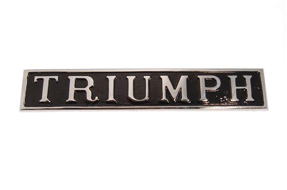 triumph badge at. Black Bedroom Furniture Sets. Home Design Ideas