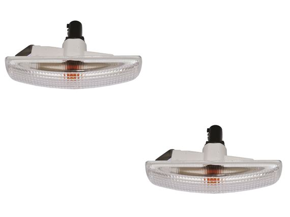 Side Repeater Lamps Conversion Kit Clear (pair) - RD1378CLEAR - OEM