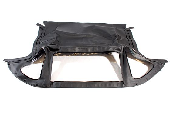 Hood Cover - Black Standard PVC with Zip Out Rear Window - Spitfire Mk3 - 817881STD
