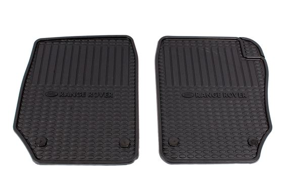 Rubber Mats Front (pair) - STC8890AA - Genuine
