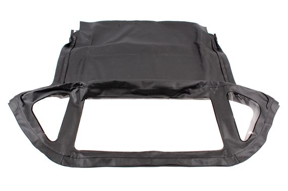 Hood Cover - Black OE Spec Vinyl - Fixed Rear Window with Header Rail - AKE5372