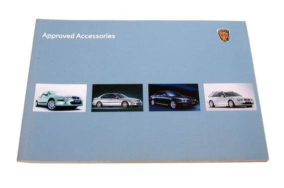 Rover 25, 45, 75 Accessory Brochure - AKM743 - Genuine MG Rover