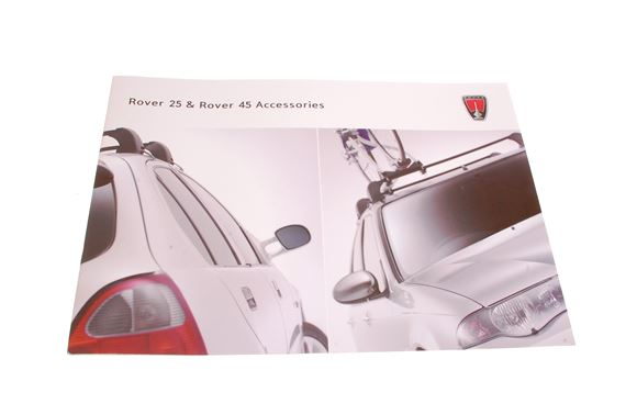 Rover 25 and 45 Accessory Brochure - AKM818 - Genuine MG Rover