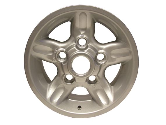 Alloy Wheel 5 Spoke Deep Dish - 16 x 7 - ANR3631MNHBP - Aftermarket