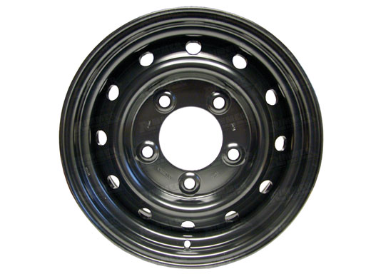 Steel Wheel Wolf 16 6.5 Black - Aftermarket