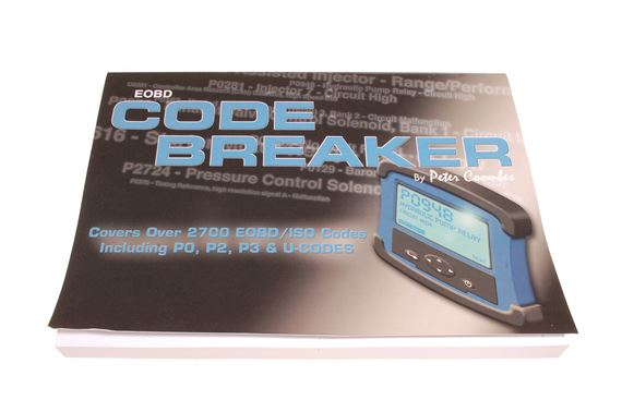 Code Breaker Diagnostic Fault Codes Manual - BA5070CB