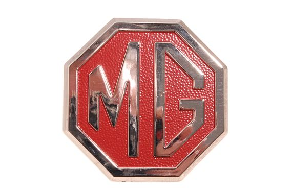 Bumper Badge - MG - Red/Silver - BHH2688