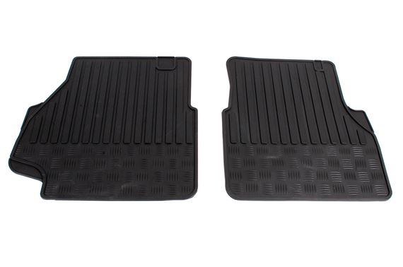 Rubber Mats Front (pair) - BTR78956BP - Aftermarket