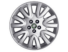 Alloy Wheel - Single - Luxury - 18 x 8 - C2C17293 - Genuine Jaguar