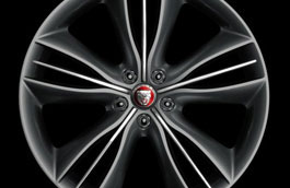 Rear Alloy Wheel - Single - Mataiva - 10J x 20 - C2D10952 - Genuine Jaguar