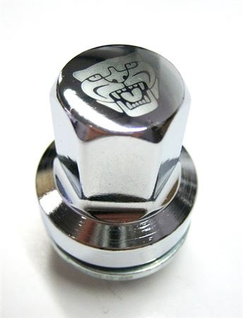 Wheel Nuts - Chrome - C2D20072 - Genuine Jaguar
