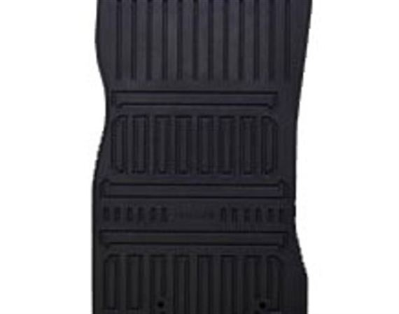Rubber Floor Mats - Front LHD - C2D8683 - Genuine Jaguar