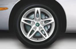 Alloy Wheel - Single - Gemini - 17 x 8 - C2N3336 - Genuine Jaguar