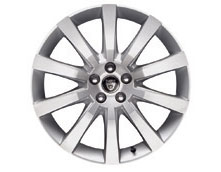 Front Alloy Wheel - Single - Carelia - 19 x 8.5 - C2P12002 - Genuine Jaguar