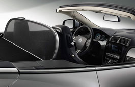 Wind Deflector - Bright Finish - C2P17566 - Genuine Jaguar