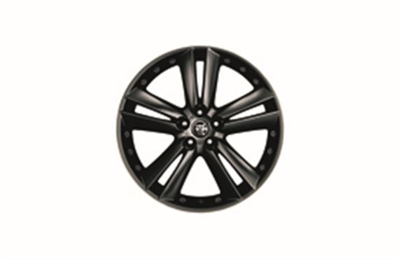 Front Alloy Wheel - Single - Kalimos Black 20 inch - C2P21173 - Genuine Jaguar