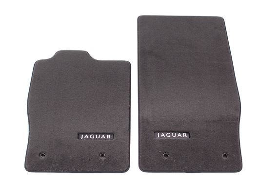 Premium Carpet Mats - RHD - Flint/Warm Charcoal - C2P21740YKM - Genuine Jaguar