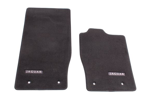 Premium Carpet Mats - RHD - Flint/Warm Charcoal - C2P21740YXR - Genuine Jaguar