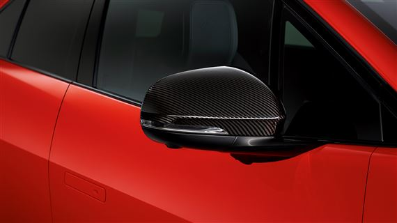 Carbon Fibre Mirror Cover - RH - C2P24176 - Genuine Jaguar