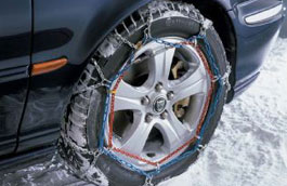 Snow Chains - 16 inch Wheels Only - C2S13856 - Genuine Jaguar