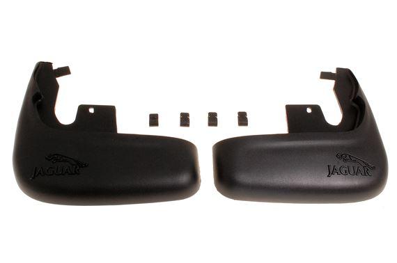 GENUINE JAGUAR X-TYPE MUDFLAP KIT FRONT C2S33913